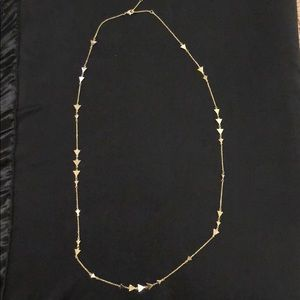 Stella & dot arrow necklace
